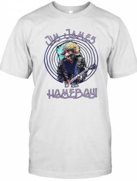 Jim James Is My Homeboy Playing Guitar T-Shirt