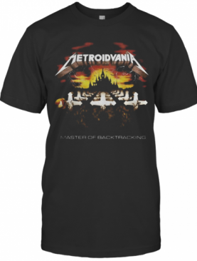Metroidvania Master Of Back Tracking T-Shirt