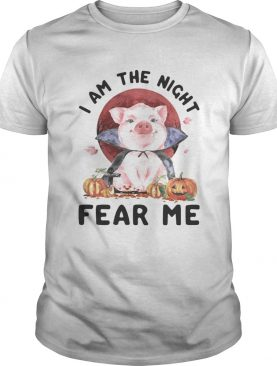 Pig witch I am the night fear me sunset shirt