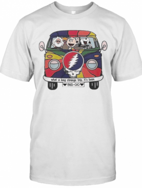 Snoopy And The Peanut Dancing Beer Lover What A Long Strange Trip It'S Been T-Shirt