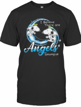 Snoopy I Believe There Are Angels Among Us T-Shirt