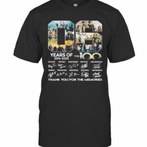 06 Years Of 2014 2020 The 100 Thank For The Memories Signatures T-Shirt Classic Men's T-shirt