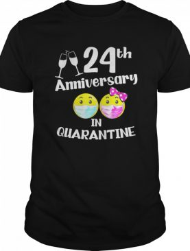 2020 the one where we spent our 24th anniversary quarantine shirt