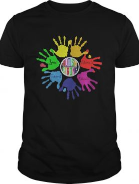 Autism Strong Love Support Educate Advocate shirt