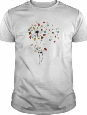 Dandelion Flower Books Fly shirt