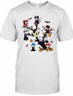 Disney Maleficent Tree Halloween T-Shirt
