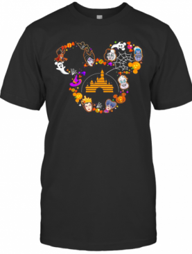 Disney Mickey Mouse Maleficent Halloween T-Shirt