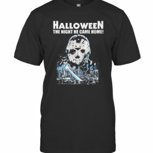 Halloween Jason Voorhees The Night He Came Home T-Shirt Classic Men's T-shirt