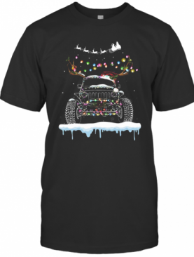 Jeep Merry Christmas T-Shirt