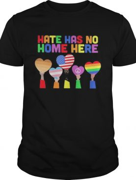 LGBT Hate has no home here shirt