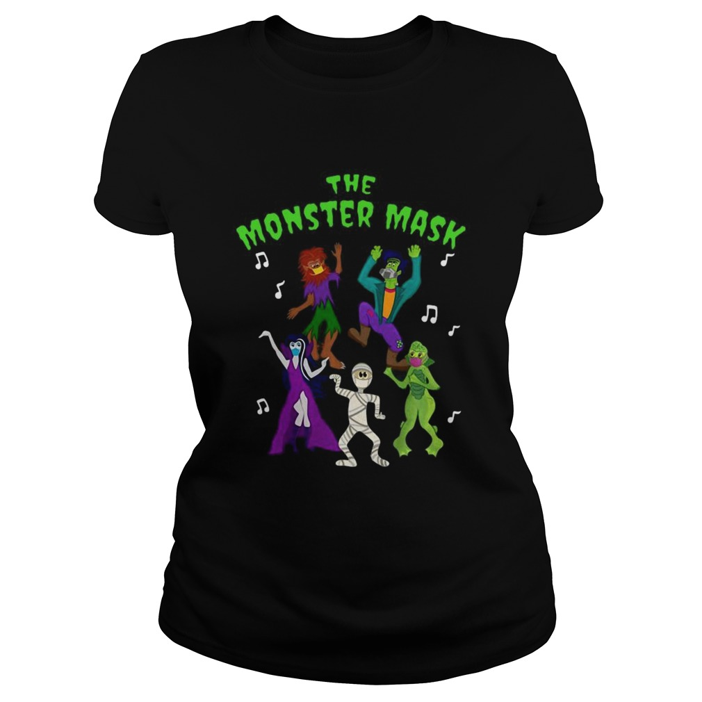 Monster Mask Dance Party Classic Ladies