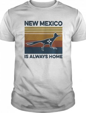 New mexico is always home vintage retro shirt