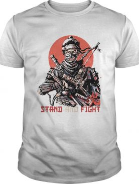 Ninja Stand And Fight Sunset shirt