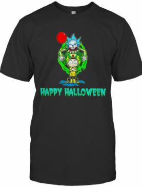 Rick And Morty Happy Halloween T-Shirt