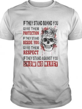Skull Queen If they stand behind you give them protection if they stand beside you give them respec
