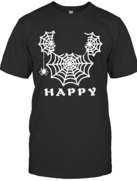 Spider Mickey Mouse Happy Halloween T-Shirt