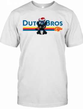 Stitch And Toothless Dutch Bros Coffee Christmas T-Shirt