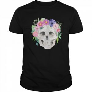 Sugar Skull Simple Day Of The Dead  Classic Men's T-shirt