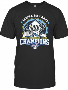 Tampa Bay Rays American League East Division Champions T-Shirt
