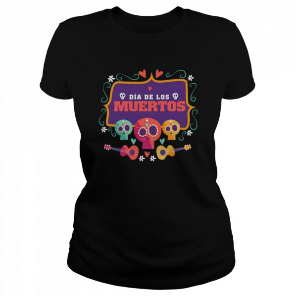 The Mexico Dia De Los Muertos Sugar Skulls  Classic Women's T-shirt