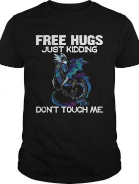 Toothless Face Mask Free Hugs Just Kidding Dont Touch Me shirt