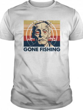 True Crime Gone Fishing Vintage shirt