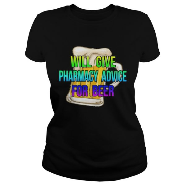 will give pharmacy advice for beer colors  Classic Ladies