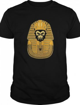 Ancient egyptian statue monkey shirt