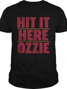 Atlanta Braves Hit It Here Ozzie shirt
