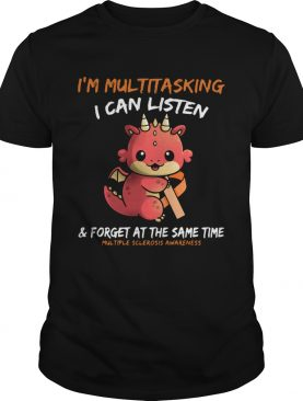 Baby Dragon Im Multitasking I Can Listen And Forget At The Same Time Multiple Sclerosis Awareness
