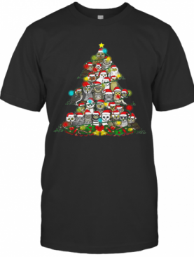 Grateful Owl Quaran Tree Christmas T-Shirt