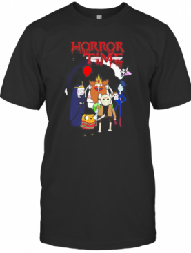 Halloween Horror Characters Time T-Shirt
