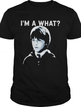 Harry Potter Im a what shirt