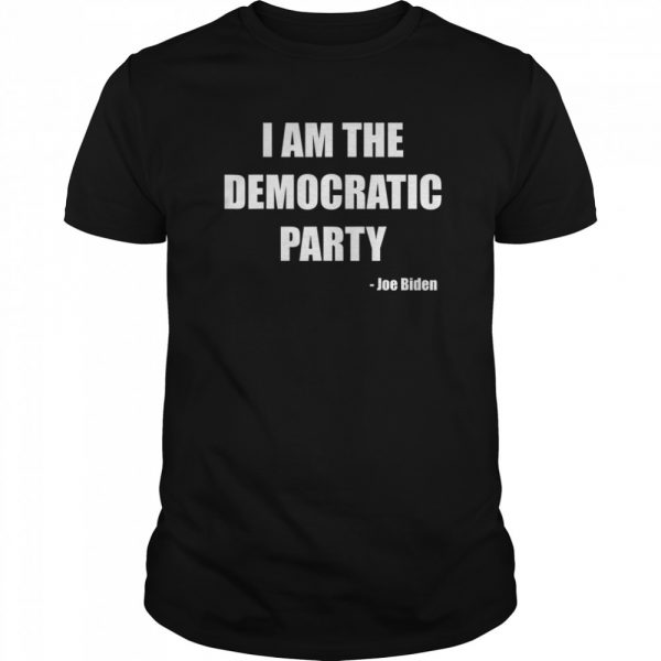 I AM THE DEMOCRATIC PARTY  Classic Men's T-shirt