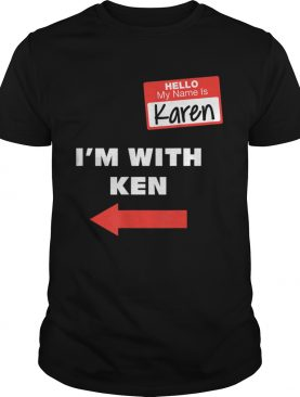 Im With Ken Couples Karen Halloween Costume shirt
