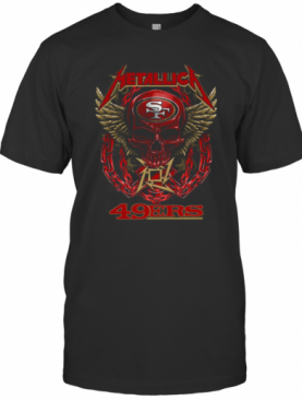 Metallica Skull San Francisco 49Ers T-Shirt