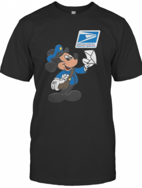 Mickey Mouse Postman United States Postal Service T-Shirt