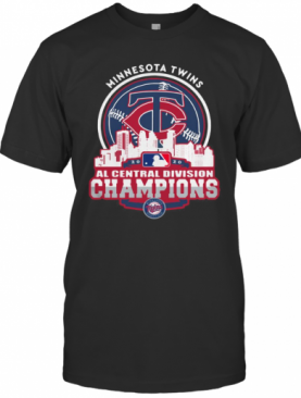 Minnesota Twins Nl Central Division Champions 2020 T-Shirt