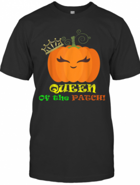 Mom Queen Of The Pumpkin Patch Family Matching T-Shirt