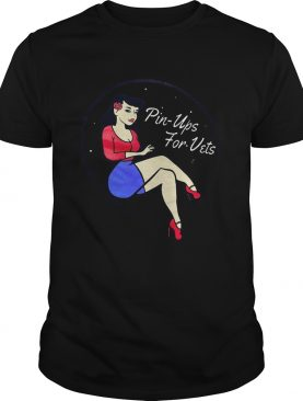 Pin Ups For Vets shirt