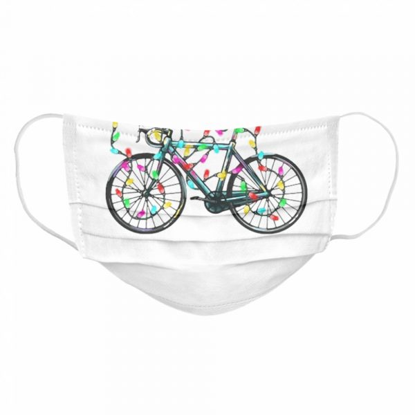 Ride Merry Christmas  Cloth Face Mask
