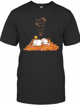 Snoopy Fall Plays Are The First Day T-Shirt
