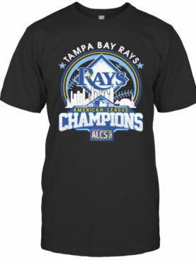 Tampa Bay Rays American League Champions 2020 T-Shirt