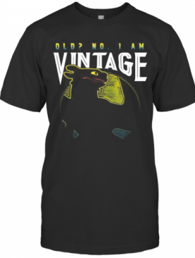 Toothless Old No I Am Vintage T-Shirt