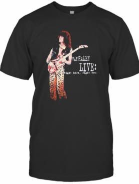 Van Halen Live Right Here Right Now T-Shirt