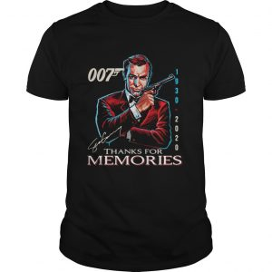 007 19302020 Signature Thanks For Memories  Unisex