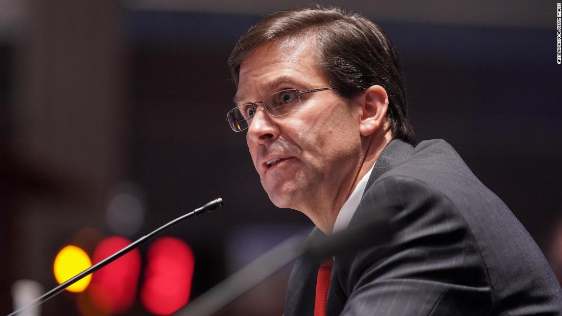Why the firing of Mark Esper is just the start of a very wild 72 days