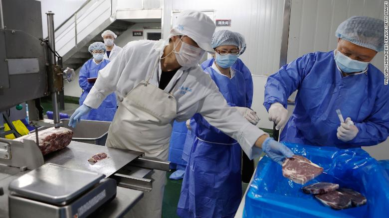 China turns its attention to frozen foods in battle to eliminate virus threat but experts remain skeptical