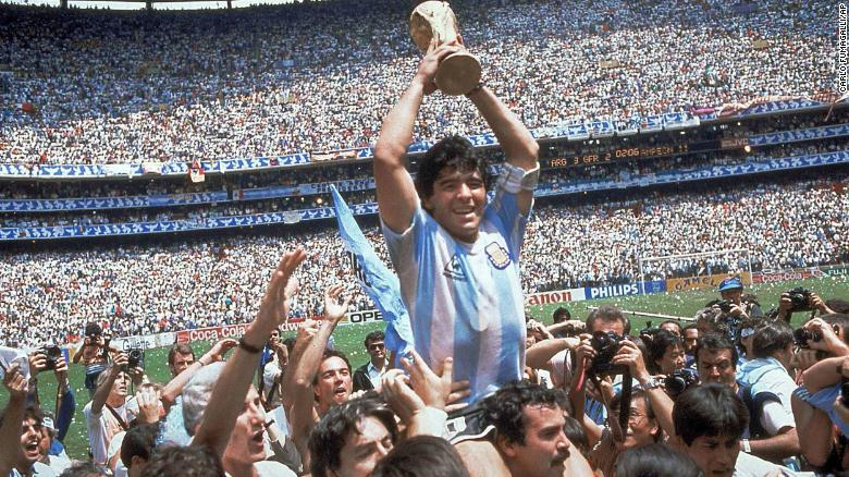 Diego Maradona dies after suffering cardiac arrest
