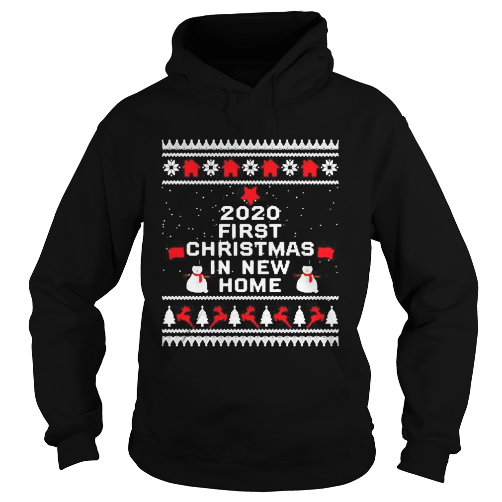 2020 first Christmas in new home Hoodie